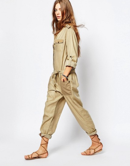 Maison Scotch Safari Boilersuit $138, at asos.com