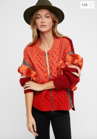 Free People Fiesta Jacket