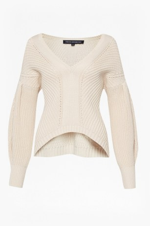 Millie Mozart Knit Drop Sleeve Jumper